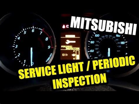 mitsubishi fuso service light reset how to change service modes inspection modes on