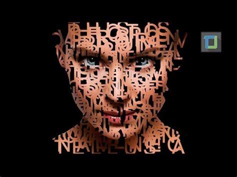 typography portrait tutorial photoshop cs6 photoshop tutorial galaxy logo design from face doovi