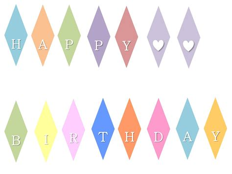 printable bunting letters little mrs can t be wrong how to happy birthday mini