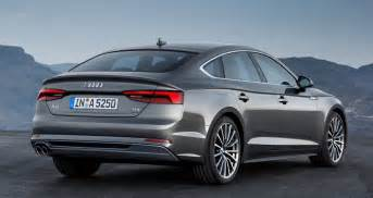 audi reveals new 2017 model a5 and s5 sportback