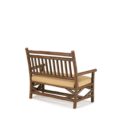 rustic settee rustic settee 1201 traditional transitional rustic