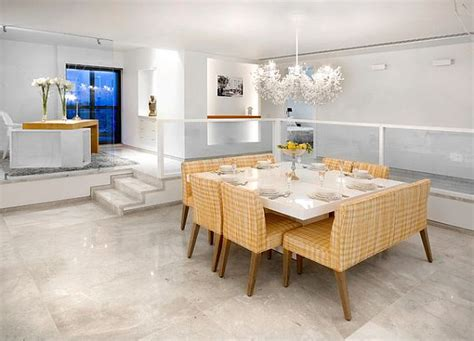 modern white dining room table contemporary dining room with white square table decoist