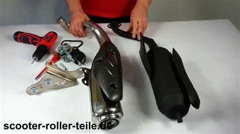 Auspuff Motorrad Reinigen by Auspuffanlage Entdrosseln Auspuff Turbo Kit Drossel
