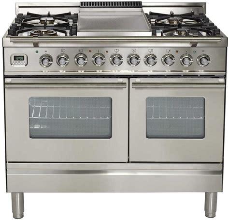 ilve updwfdmpi   dual fuel double oven range