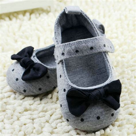 Baby Prewalker Shoes Grey baby shoes boys cotton infant soft sole baby