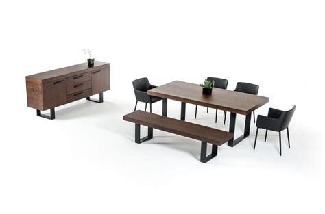 modern wenge dining table lola modern wenge walnut dining table