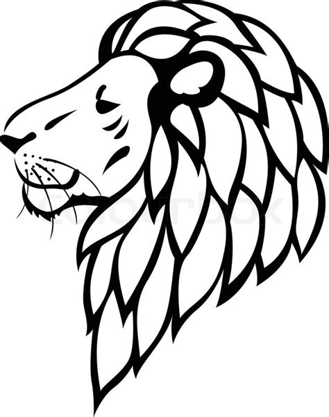 simple lion tattoo designs simple line drawing