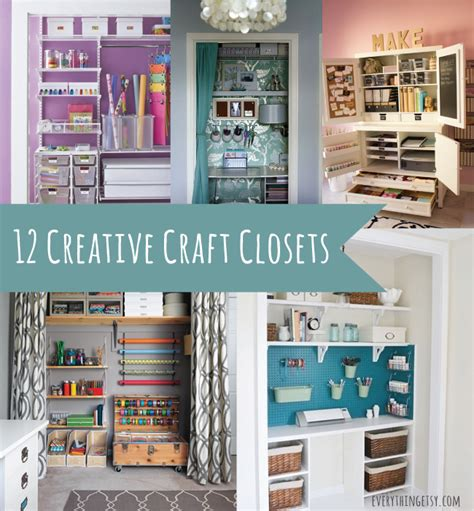 Walk Out Basements by 12 Creative Craft Closets Amazing Ideas Everythingetsy Com