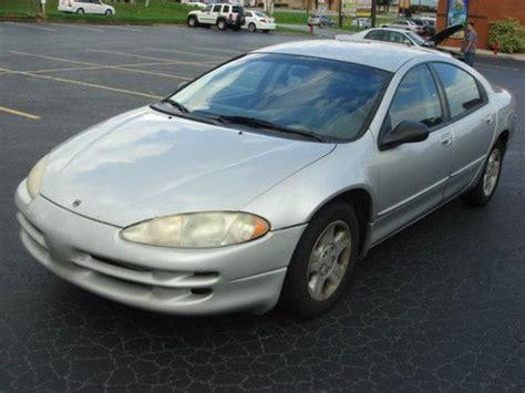 2002 dodge intrepid gas mileage sell used 2002 dodge intrepid se sedan 4 door 2 7l in