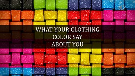 what does your bedroom color say about you what your clothing color say color and it meaning