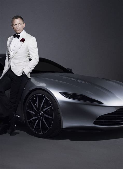 Bond Aston Martin Car by Daniel Craig 007 Bond Aston Martin Car Photoshoot