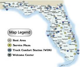 map of florida ta area florida rest areas roadside fl rest stops maps
