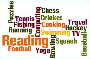 exle of many different types of hobbies on a cv