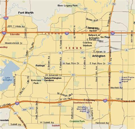 where is arlington texas on the map prairies lakes region arlington texas map