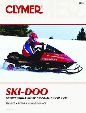 Ski Doo Snowmobile 1990 1995 Haynes