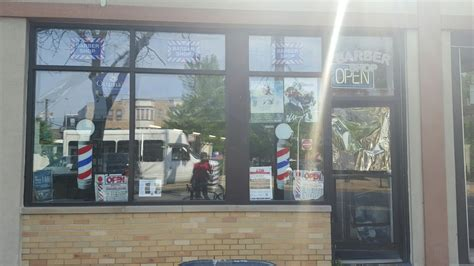 haircut broadway chicago terrell s barber shop barbier 3943 n broadway st