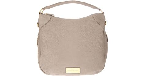 Designer Purse Deal Marc By Marc Tinted Denim Jazz Handbag by Marc By Marc Washed Up Billy Hobo Tote In Gray Lyst