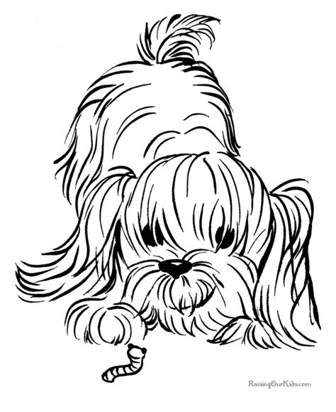 coloring pages of maltese puppies dog color pages printable free printable puppy coloring