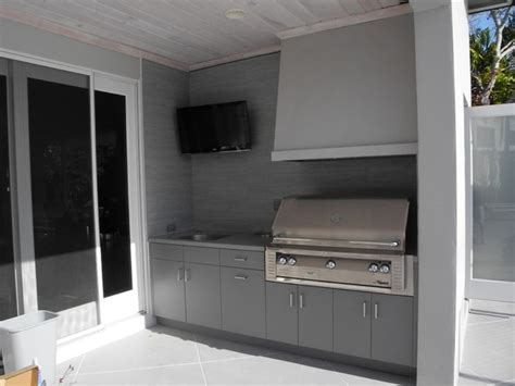 Polymer Cabinets For Outdoor Kitchens Polymer Board Cabinetry Modern Patio Miami By Furnishings Inc