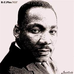 sketch n 176 33 martin luther king portrait b c pho tography