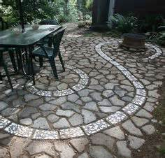 recycled concrete patio quikrete walk maker backyard walks patio