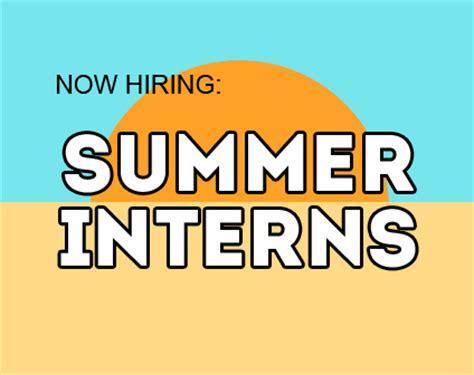 summer intern contact hr