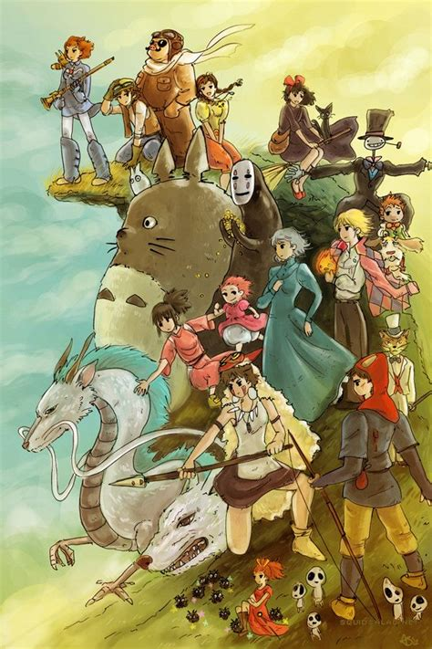8 Amazing Studio Ghibli by Studio Ghibli On Spirited Away Miyazaki And