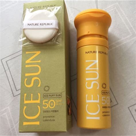 Harga Nature Republic Puff Sun review kem chống nắng nature republic puff sun