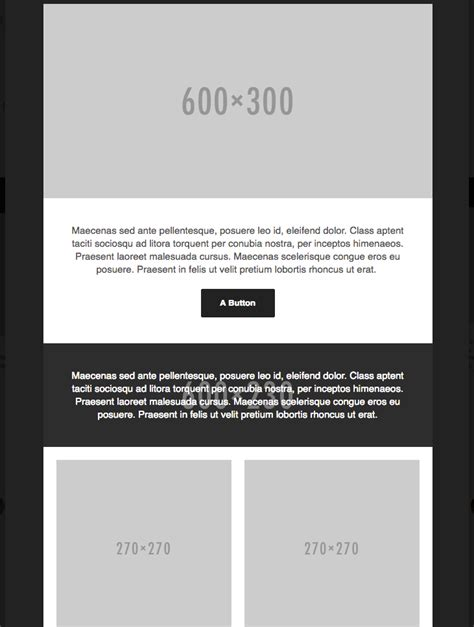99 Free Responsive Html Email Templates To Grab In 2018 Basic Responsive Html Template