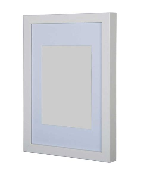 30 By 40cm Frame by Gallery Wooden Picture Frame White 50x70cm With 40cm X