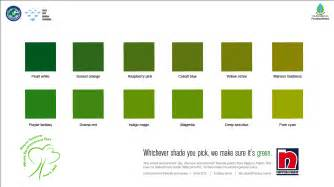 different colors of green ads wall paints by muzna nishath at coroflot