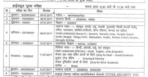 m p supplementary 12th result madhya pradesh hsc 10th class supplementary time