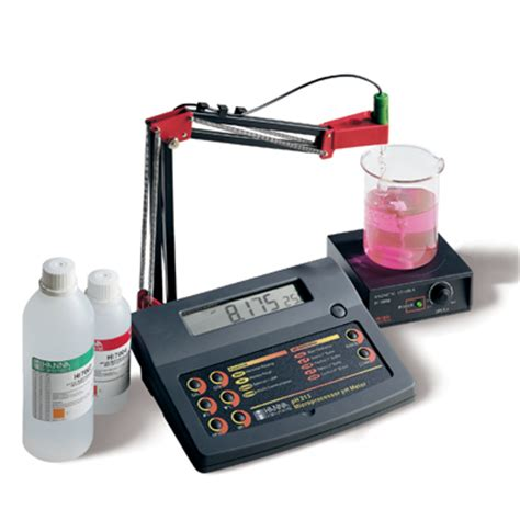 bench com ph ph212 bench ph meters with 0 001 ph resolution and pc