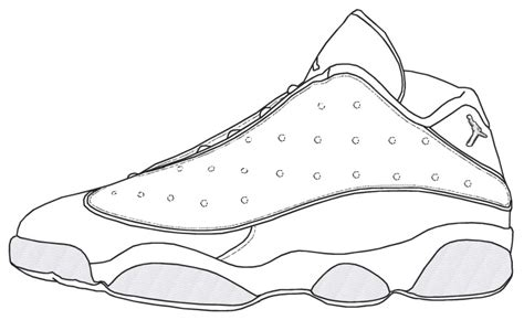 coloring pages air jordans jordan shoe coloring pages coloring home