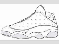 Jordan Shoe Coloring Pages - Coloring Home Lebron 11s Red