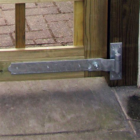 cranked hook  band hinges entrance side gate