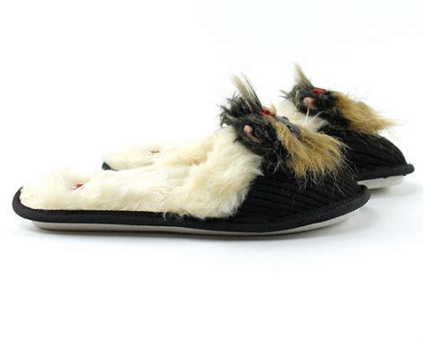 mens yorkie socks terrier animal slippers animal slippers