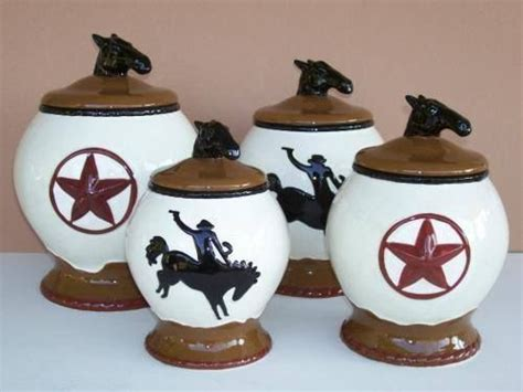 western kitchen canister sets new western canister set cowboy kitchen decor