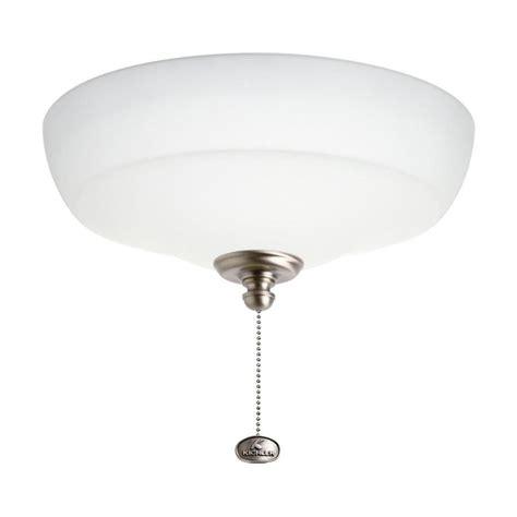 kichler ceiling fan light kit kichler universal ceiling fan 3 light kit at lowes