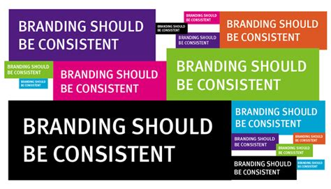 design consistency definition graphics and branding