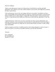 Thank You Letter After Meeting With Human Resources Example Thanks For Job Interview 4