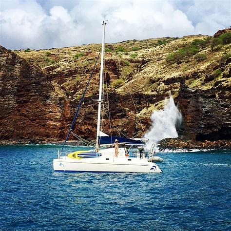 private catamaran hawaii protected bays only you can get there on a sailboat yelp