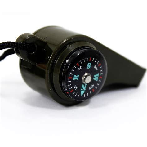 Peluit Multifungsi Whistle Compass Temperature 3 In 1 Whistle Compass Temperature Peluit Multifungsi