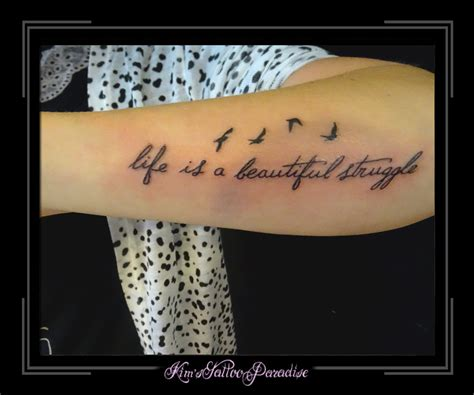 life is a beautiful struggle tattoo beautiful struggle pictures to pin on