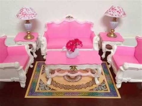 new gloria barbie sized deluxe living room furniture