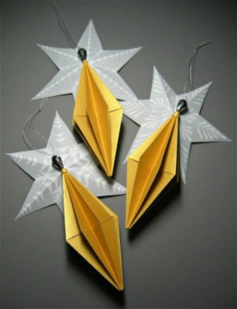 origami ornaments by all things paper project