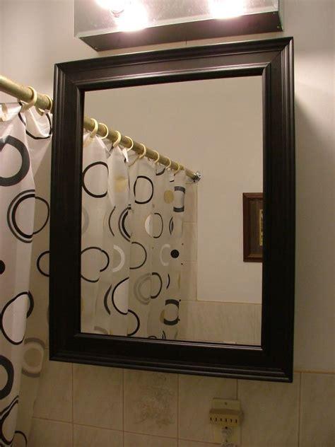 framed mirror medicine cabinet 25 best ideas about medicine cabinet mirror on