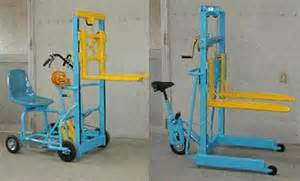 Sustainable Home Design Products Human Powered Forklift Treehugger