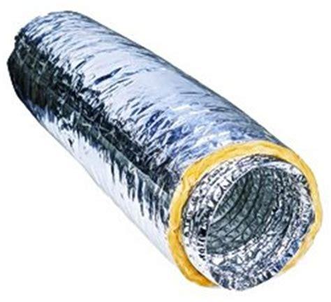 Centrifugal Tahan Panas pasar ducting duct aluminium isolasi non