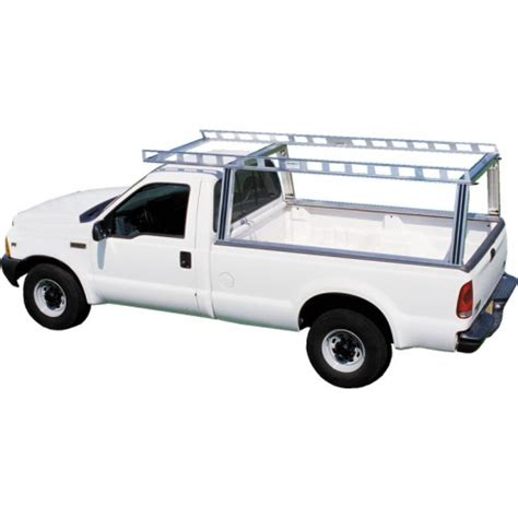 heavy duty truck rack system one contractor rig pickup truck ladder rack